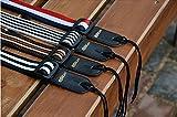 zhjz verstellbar Nylon Ukulele Gitarre Träger Streifen