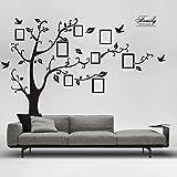 KAILO Pegatinas Pared Vinilo Fotos de árboles Adhesivos para Decorativos DIY Wall Stickers 200x250 cm