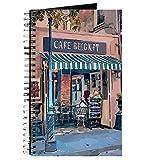 Best CafePress Café Livres - CafePress–Cafe at Jazz Fest–spirales Journal ordinateur portable, journal Review