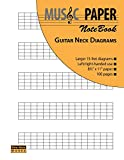 Music Paper Notebook - Guitar Neck Diagrams