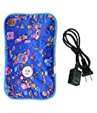 SHOPTOSHOP Electric Rechargeable Heating Pad For Body Pain Relief Multicolor