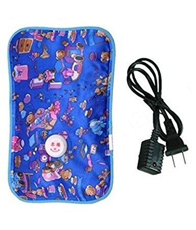 Zollyss Electric Rechargeable Heating Pad for Full Body Pain Relief (Multicolor, 24 cm x 18 cm x 6 cm)(No Gel Inside)
