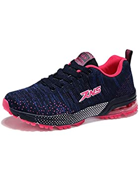xiduoduo Damen Herren Sportschuhe Ultra Leichte Laufschuhe Rutschfeste Sneakers Mädchen Junge Schuhe mit Dämpfung...