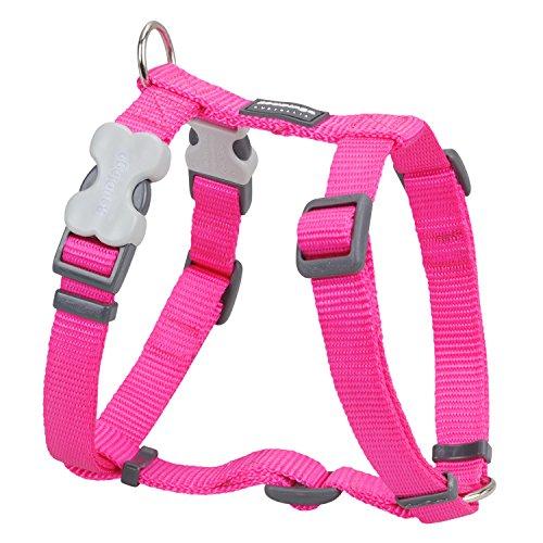 Trilus DH-ZZ-HP-15 Nylon Hundegeschirr, hot pink, S (Nylon Hundegeschirr Pink)