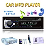 X-RAKO Car Radio Autoradio 1 DIN Bluetooth Vivavoce Stereo Radio Car MP3 Player con telecomando FM/USB/TF/AUX IN