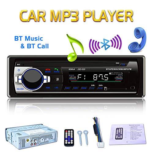 X-RAKO Radio de Coche Autoradio 1 DIN Bluetooth Manos Libres Radio Estéreo...