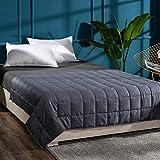 QZY Gewichtsdecke Weighted Blanket für Erwachsene Schwerkraftdecke für Besseren Schlaf, Größe:...