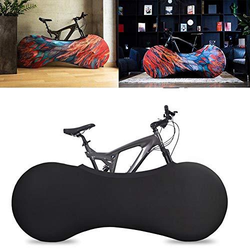 Csatai Fahrradabdeckung für Lagerung Innenraum, Schmutzfrei und Dekorativ Motiv Fahrrad (A) -