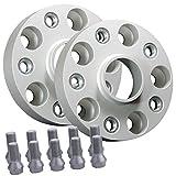 SilverLine by RSC Spurverbreiterung 50mm Achse/ 25mm Seite LK: 5x120 72,6 - 20613111_4250891953114