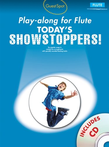 guest-spot-playalong-for-flute-todays-showstoppers-partituras-cd-para-flauta