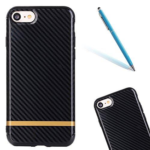 """iPhone 6sPlus Schutzhülle, CLTPY iPhone 6Plus [Ultra Hybrid] Luftpolster-Technologie Handytasche mit Weben Muster, [Kratzfeste] & [Stoßdämpfende] Gummi Cover für 5.5"""" Apple iPhone 6Plus/6sPlus (Nicht  Schwarz Gelb"""