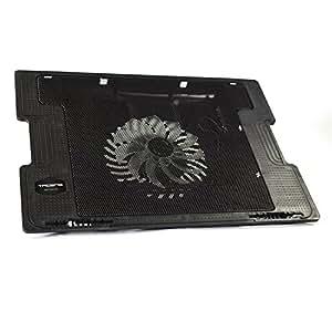 """Tacens Anima ANBC2 - Base di raffreddamento per, (Fino a 16"""", ventola da 140mm, 14dB, ergonomico, regolabile, ultra-silenzioso), nero"""