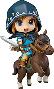Good Smile Company- Link Figura Deluxe Version 10 cm Zelda Breath of The Wild Nendoroid (GSCLZG90298)
