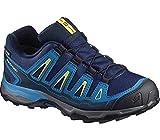 Salomon Unisex-Kinder X-Ultra GTX J Trekking-& Wanderhalbschuhe, Blau (Blue Depth/Cloisonné/Blazing Yell O 000), 34 EU