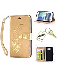 Slim Bumper Case PU Case for Samsung Galaxy A3A300(2015) 4.5Inches Soft Protective Flexible Soft Lightweight Shock Resistant. Slim Silicone Cover Case Cover Cap–Photo Frame Keychain # AR 6