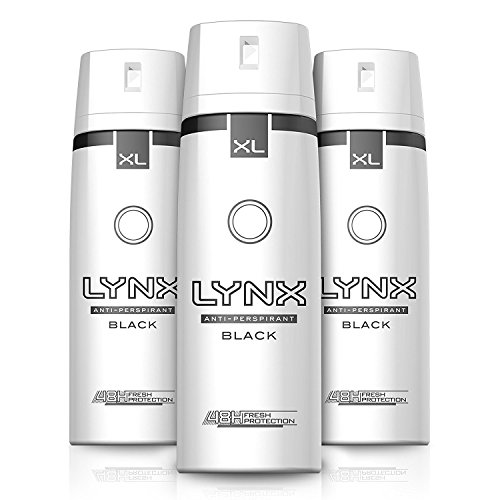 Lynx Dry Black Aerosol Anti-Perspirant Deodorant 200 ml - Pack of 3