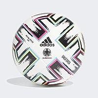 adidas UNIFO LGE Balón de Fútbol, Men\'s, White/Black/Signal Green/Bright Cyan, 5