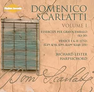 Scarlatti : L'intégrale des sonates, vol. 1. Lester.
