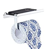 WXL Punch-Free-Rollenpapier-Rohr-Toiletten-Badezimmer-Toilettenpapier-Halter-an der Wand befestigte Papierhandtuch-Zahnstange WXLSF