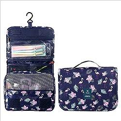 Accrochage de sac de toilette Sac de rangement Sac de maquillage Sac de lavage de voyage,A,24 * 10 * 20cm