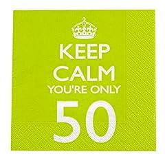 Idea Regalo - 50 anni pacco Tovaglioli KC&P