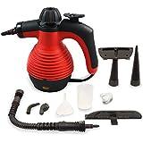 Comforday - Limpiadora a vapor portátil de alta presión y alta temperatura, quita manchas, arrugas y mata chinches, steam cleaner.
