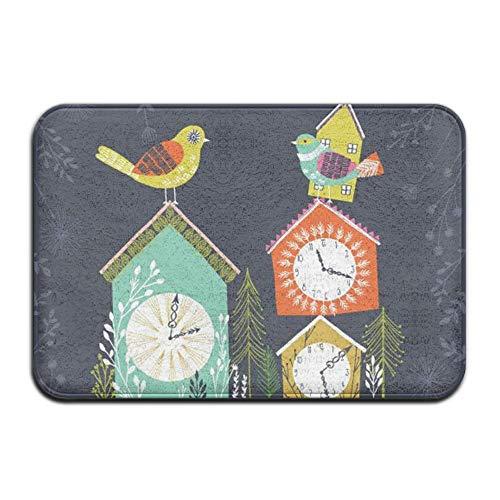 NiceGift Cuckoo Bird Clock Front Super Soft Memory Foam Outdoor 23.6