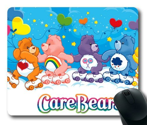 Image of Care Bears Mouse Pad, Customized Rectangle Mousepad Diy By Bestsellcase