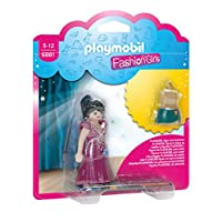 Playmobil 6881 Party Fashion Girl with Changeable Clothing