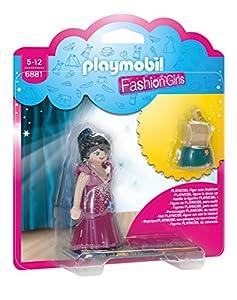 Playmobil Tienda de Moda- Party Fashion Girl Figura con Accesorios, (6881)