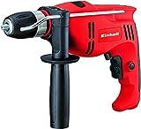 potencia: 710 W; rpmr: 0-2700 min-1; capacidad de perforado: 13 mm cemento, 10 mm acero, 25 mm madera