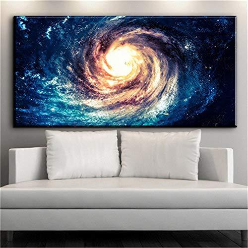 Leinwand poster und druckkunst wasser leinwandbild ölgemälde kunst malerei für wohnzimmer wand (kein rahmen) A2 40x80 CM