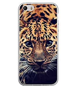 FUSON Leopard Eady To Attack Designer Back Case Cover for Apple iPhone 4