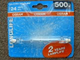 Osram Halogenstab 500W, R7s, 118mm, Double Life