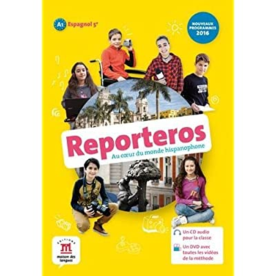 Reporteros 5e (A1) - Livre de l'élève d'espagnol