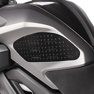 Seiten-Tankpad für Suzuki Bandit 600/650/1200/1250/S, B-King, Gladius 650, GSR 600/750, Hayabusa, SV 650/1000/S, V-Strom 1000/250/650/XT Motea Grip M schwarz