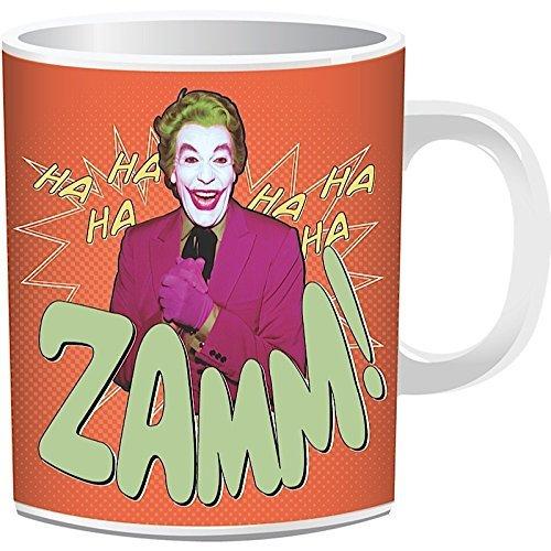 Batman Tasse Joker 1966 verpackt. Offiziell lizenziert