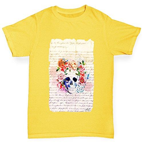 twisted-envy-canotte-maniche-corte-bambino-yellow-12-14-anni