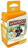 ASS Altenburger 22502779 - Shuffle Monopoly Junior, Kartenspiel