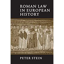 Roman Law in European History
