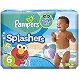 Pampers SCHW immwindeln, Taille 6, 21 couches