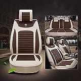Unbekannt ZDCAR Automobilsitzkissen für Universalität alle Jahre allgemeine Motoren Autositzkissen , coffee color