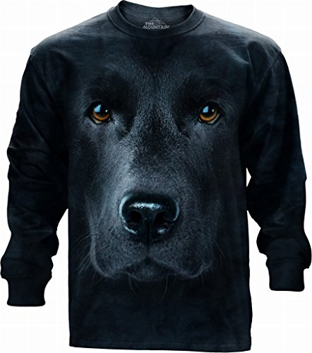 The Mountain Longshirt Black Lab Face schwarz | M