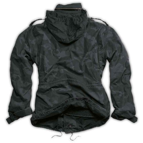 Surplus - Blouson Homme (Camouflage noir)