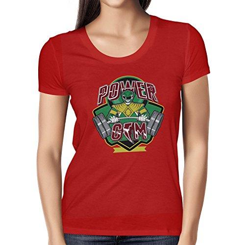 TEXLAB - Power Gym - Damen T-Shirt Rot