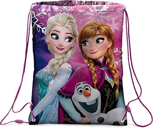 Frozen sacca zaino morbido elsa anna 41408