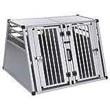 Transportbox Hundebox Alubox Transportkäfig DOPPELBOX Aluline S*