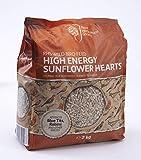 RHS Vogelfutter, hohe Energie, Sonnenblumen-Herzen, 2 kg