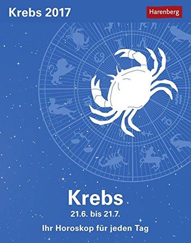 Krebs - Kalender 2017: Ihr Horoskop für jeden Tag
