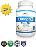 Omega 3 Fish Oil Supplements with Lemon ...
